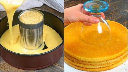 6 trucchi semplici e veloci per realizzare delle torte strepitose!