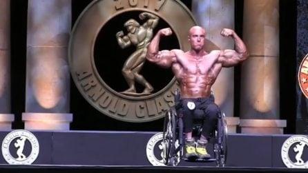 Perde l'uso delle gambe ma non la voglia di lottare: Gabriele Andriulli ha emozionato l'Italia