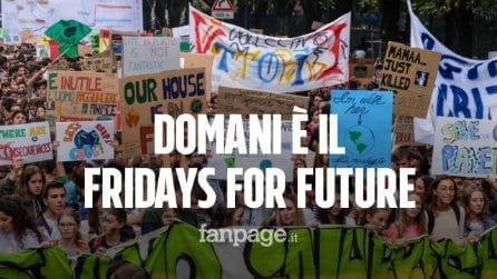 FridaysforFuture: il 29 novembre lezioni a rischio per il quarto sciopero per il clima