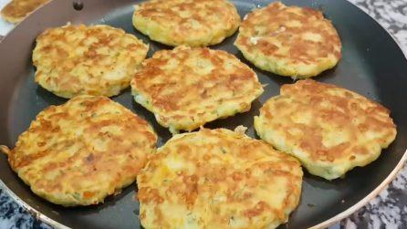 Frittelle di verdure e formaggio: l'idea sfiziosa da preparare facilmente