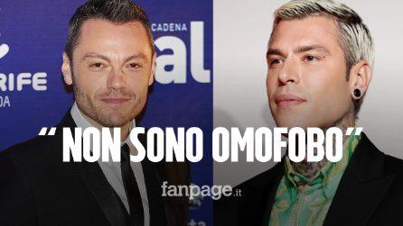 """Fedez risponde a Tiziano Ferro: """"Non sono omofobo, lo invito a fare qualcosa insieme"""""""