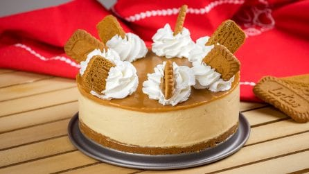 Lotus cheesecake: Rich and full of caramel flavour, this cheesecake is perfect for every occasion!