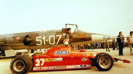 38 anni fa la sfida delle sfide: Ferrari di Villeneuve vs F 104 Starfighter