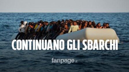 Migranti, non si fermano gli sbarchi a Lampedusa: soccorse quasi 300 persone nel Mediterraneo