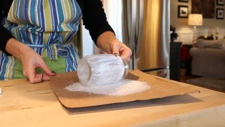 Come realizzare barattoli in perfetto stile natalizio: l'idea originale