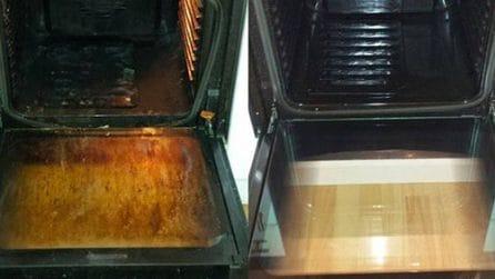 Come pulire il forno utilizzando solo tre ingredienti