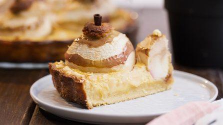 Torta alle mele ripiena: il dolce autunnale unico e originale da provare!