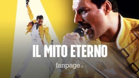 Freddie Mercury morto 28 anni fa: la storia dell'uomo la cui leggenda non morirà mai