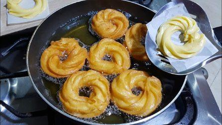 Ciambelline fritte: la ricetta del dessert semplice e veloce