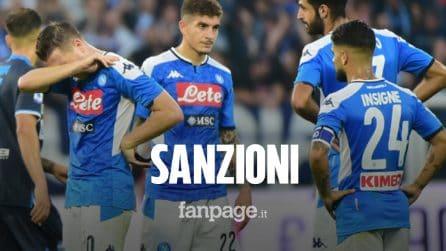 Napoli, ecco le sanzioni: clima incandescente tra società e calciatori prima del Liverpool