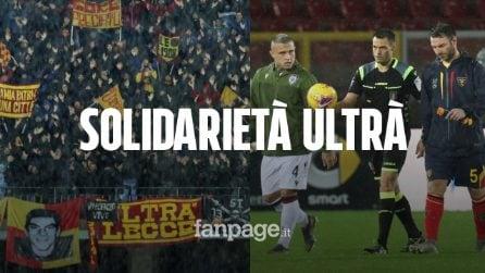 Lecce-Cagliari rinviata, il cuore d'oro dei leccesi: ospitano i rivali rimasti bloccati