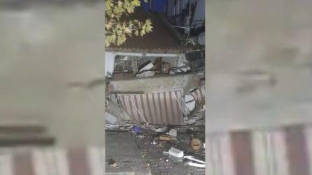 Terremoto Albania, edifici crollati a Durazzo