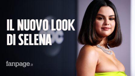 Selena Gomez cambia look agli American Music Awards: passa al caschetto e mostra il nuovo tatuaggio