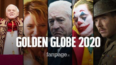 """Golden Globe 2020, tutte le nomination: Netflix domina, delusione per l'Italia con """"Il traditore"""""""