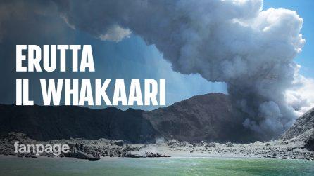 """Nuova Zelanda, erutta il vulcano Whakaari: cinque morti. Un turista: """"Sono vivo per miracolo"""""""