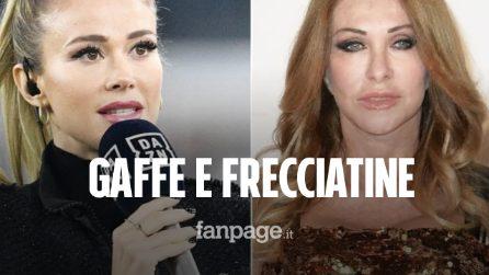 """Diletta Leotta confonde Battisti con Venditti, Paola Ferrari attacca: """"Pronta per Sanremo"""""""