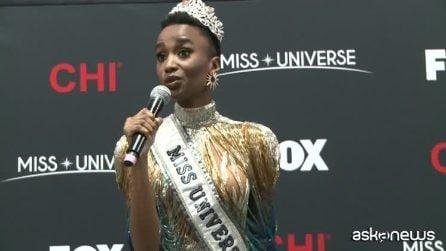 Miss Universo 2019 è la sudafricana Zozibini Tunzi