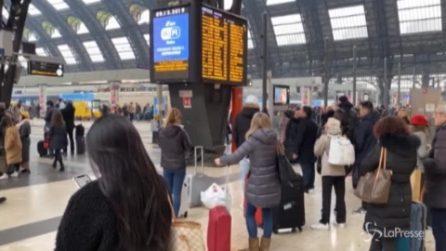 Terremoto al Mugello, ripartono i treni ma a Milano Centrale è il caos: ritardi fino a 150 minuti