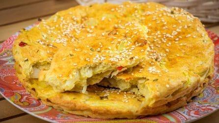 Pane alle cipolle al forno: pronto in 35 minuti!