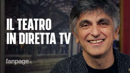 """Vincenzo Salemme: """"Le mie commedie a teatro e in diretta tv, sarò una specie di Ambra Angiolini"""""""