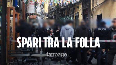 Napoli, spari tra la folla a via Toledo: gambizzato un uomo in un bar del centro