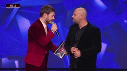 Marco D'Amore a X Factor, il numero emozionante con Alessandro Cattelan