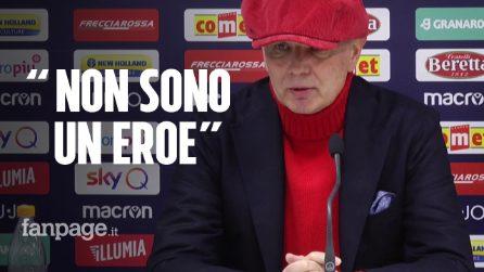 """Mihajlovic torna a parlare dopo il trapianto di midollo: """"Non sono un eroe, anche io ho paura"""""""