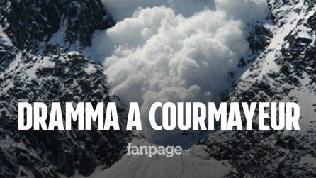 Tragedia a Courmayeur, valanga si stacca dal Monte Bianco: morti due sciatori