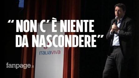"""Matteo Renzi e l'inchiesta su Open: """"La magistratura vuole decidere cosa è politica e cosa non lo è"""""""