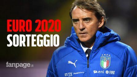 Euro 2020, urna fortunata per l'Italia: le avversarie degli azzurri e il calendario delle gare