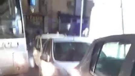 Napoli, il consigliere regionale Francesco Borrelli aggredito da un parcheggiatore abusivo