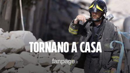 """Albania, i vigili del fuoco italiani ritornano a casa: """"Speriamo di aver dato un po' di sollievo"""""""