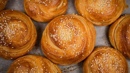 Puff pastry swivels: a delicious breakfast idea!