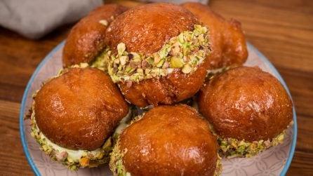 Bombe al pistacchio: cremose e piene di sapore!