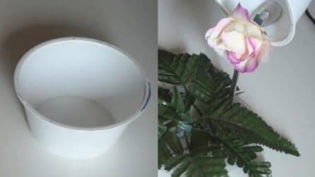 Come riciclare i barattoli di plastica: un'idea stupenda e creativa