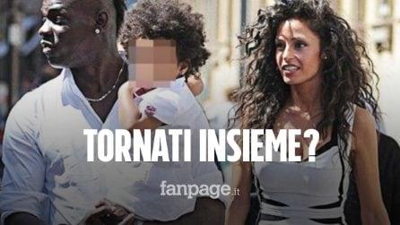 Raffaella Fico e Mario Balotelli postano una foto che li ritrae in un abbraccio: tornati insieme?