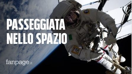 Conclusa la passeggiata spaziale di Luca Parmitano: ecco com'è andata