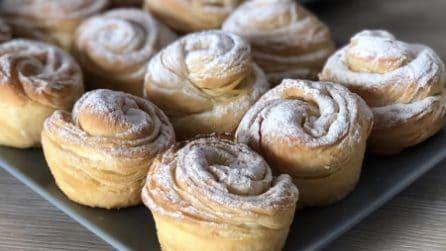 Rose fragranti e ripiene: il dessert bello da vedere e delizioso