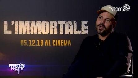 """Marco D'Amore a Tv2000 parla de """"L'Immortale"""" e racconta: """"Servillo mi disse apriti una pizzeria"""""""