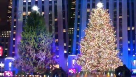 Accensione dell'albero al Rockfeller Center: tutta la magia del Natale
