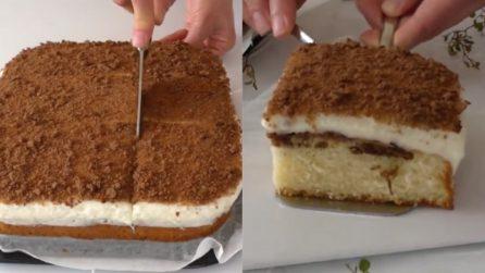 Quadrotti soffici cioccolato e vaniglia: la ricetta del delizioso dessert
