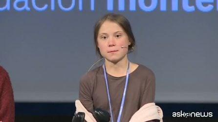 """COP25, Greta Thunberg a Madrid: """"Non abbiamo un minuto da perdere"""""""