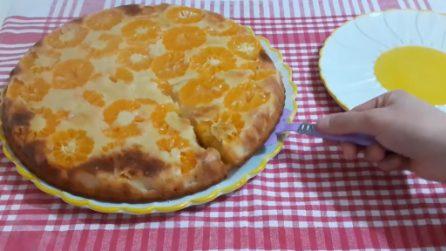 Torta rovesciata ai mandarini: la ricetta del dessert bello e gustoso