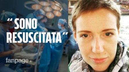 """Il suo cuore smette di battere per 6 ore, Audrey """"torna in vita"""". I medici: """"È un miracolo"""""""