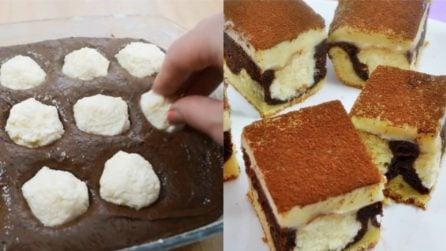 Torta al cioccolato con praline di ricotta: la ricetta del dessert originale e goloso