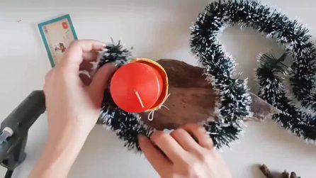 Come realizzare un bellissimo centrotavola natalizio