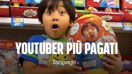 Ecco chi sono gli YouTuber più pagati al mondo, secondo la classifica di Forbes