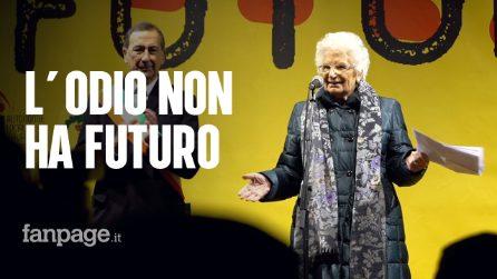 L'odio non ha futuro, 600 sindaci in marcia a Milano per Liliana Segre