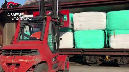 Diciassette vagoni carichi di rifiuti speciali: a Lecco sequestrato un treno diretto in Bulgaria