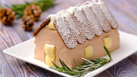 Casetta di Natale: il dolce tutto da mangiare semplice e originale!
